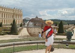 2012/Fariba in the Gardens of Versailles,Paris