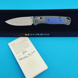 New Benchmade Gold Class