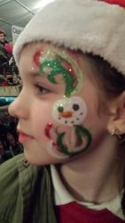Snowman and Ribbon's