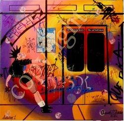 Subway -2012 (SOLD David Jayne)