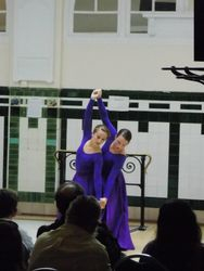 Performing at the Salvation Army