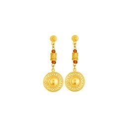 Aretes precolombinos largos - Hanging precolumbian earrings