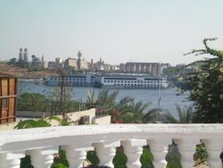 Nile views and Temple of Luxor