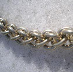 Nickel Silver Rope Chain Bracelet
