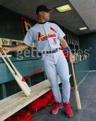 Albert Getting Ready To Use An X Bat