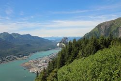 From Mount Roberts in Juneau