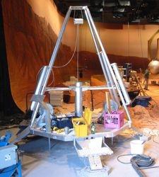 """Full size """"Mars Lander"""" movie prop"""