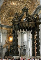Bernini, Baldachino and Cathedra Petri, St. Peters