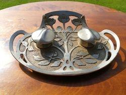 Antikvarine rasaline Art Nouveau. Kaina 73
