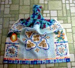 Mosaic Kitchen Towel