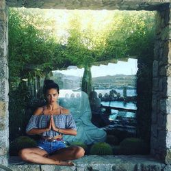 Andriana Lima on Zen moments in Mykonos