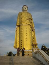 The tallest Buddha in Myanmar