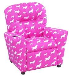#401C Child Recliner  - Best Friends Pink