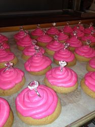 Engagement Party Cupcakes