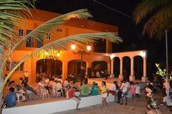 La Plaza de Chacala durante Semana Santa