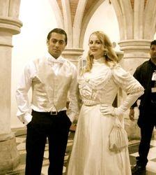 Salman Khan & Delia Antal
