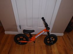 "Strider 12"" UltraLight Balance Bike - $65"