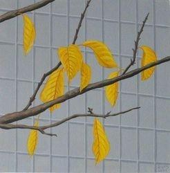 Nine gold Leaves