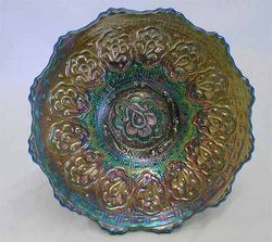 "Persian Medallion 6"" plate - blue"