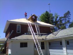 Replace full roof