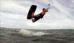 Unhooked kiteboarding