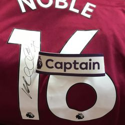 Captain Mark Noble Captains armband.