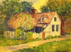 Original Beaufort painting by Mrs. Goldsborough