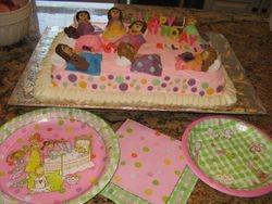 Sleepover Birthday Cake