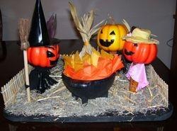 Halloween Pumpkin People