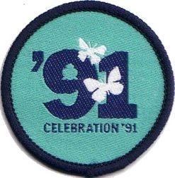 1991 Senior Section Anniversary Badge (cloth)