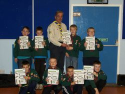 Chief Scout's Silver Award