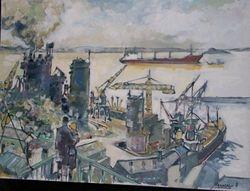 BREST le Port de COMMERCE No2
