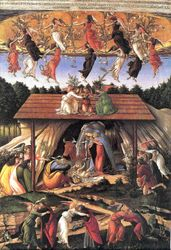 Botticelli, Mystic Nativity, C. 1500, London