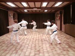 Extra kata training