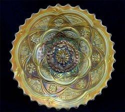 """Persian Garden 6"""" plate, peach opal"""