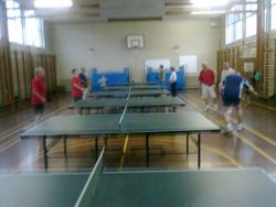 Tuesday night practise at Diss High School
