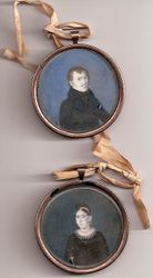 c.1810 French Provincial Miniatures