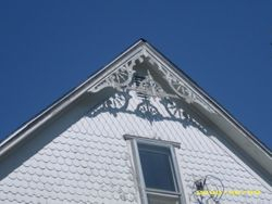 Eave detail
