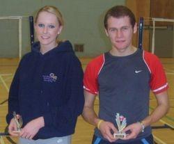 Handicap Tournament Mixed Doubles Runners Up