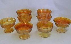 Orange Tree ftd berry bowls, marigold,