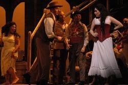 """Onstage in """"Carmen"""""""
