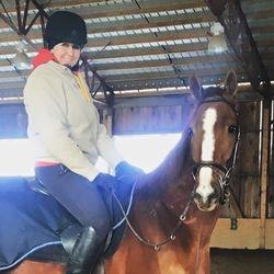 Winston's 1st Ride Off-Track