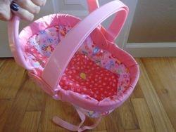 Hasbro Baby Alive Go Bye Bye Doll Backpack Carrier - $10