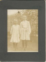 Grace C. (Creighton) Grager Myers and Irene C. (Creighton) Clark