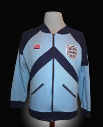 Admiral Match Worn England World Cup 1982 Tracksuit