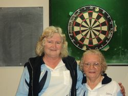A Grade Ladies Doubles Runners Up - Cheryl Cox & Zelma Moran