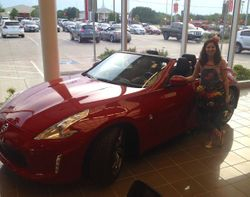 Memorial Day celebration at Nissan Burleson