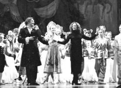 With The Moscow Ballet