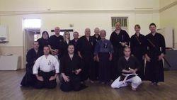 Iaido Seminar - Sunderland July 2012