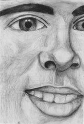 A Level Self Portrait